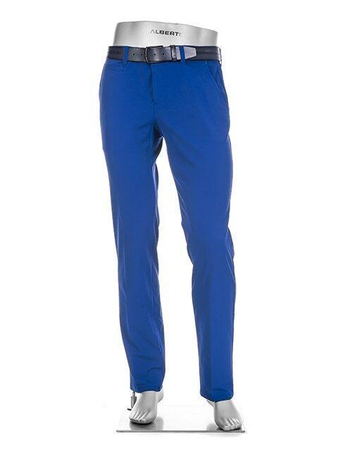 Alberto heren golfpantalon Rookie 3xDry Cooler blauw