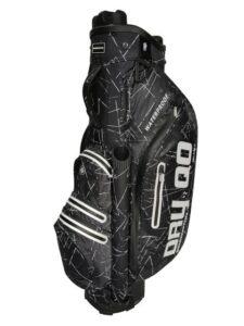 Bennington golftas QO Dry BD Cart Bag zwart-wit