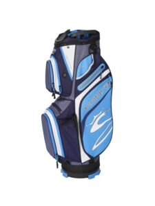Cobra golftas Ultralight Cart Bag navy-blauw-wit