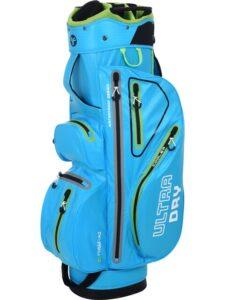 Fastfold golftas Ultra Dry Cart Bag lichtblauw-groen