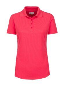Greg Norman dames golfpolo ProTek koraal