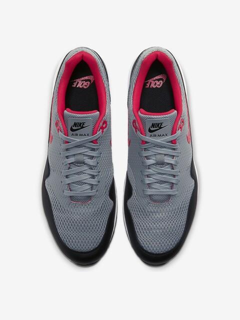 Nike heren golfschoenen Air Max 1G grijs-zwart-rood