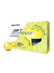TaylorMade golfballen Soft Response geel