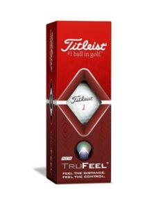 Titleist golfballen TruFeel wit sleeve