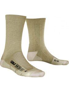 X-socks heren golfsokken Air Step Mid Calf beige
