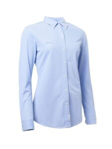 Abacus dames golfblouse Wade stretch lichtblauw
