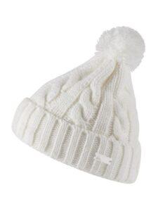 Adidas dames golfmuts Pompom Beanie wit