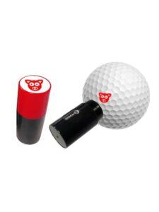 Asbri golfbalstempel Varken rood