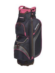 BagBoy golftas DG-Lite II Cart Bag 2020 navy-roze-zilver