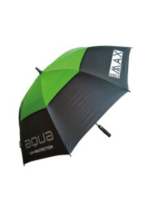Big Max golfparaplu Aqua UV grijs-lime