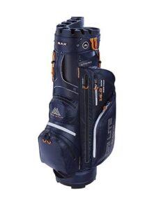 Big Max golftas Dri Lite Silencio Cart Bag navy-oranje