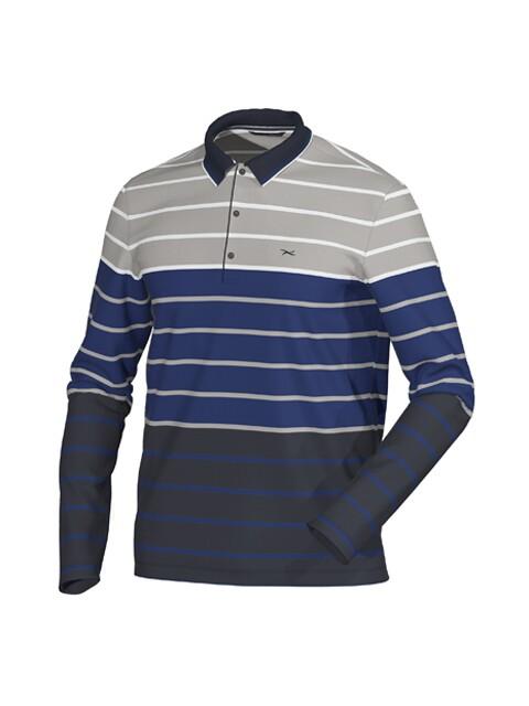 Brax Golf heren golfpolo Philian blauw
