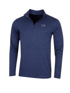 Calvin Klein heren golfpully Newport navy