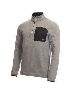 Calvin Klein heren golfsweater Pinnacle grijs
