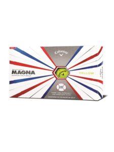 Callaway golfballen SuperSoft Magna geel