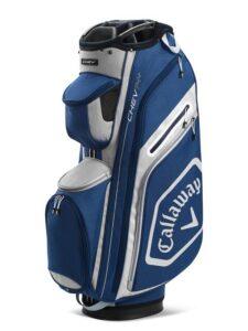 Callaway golftas Chev 14+ Cart Bag navy-zilver