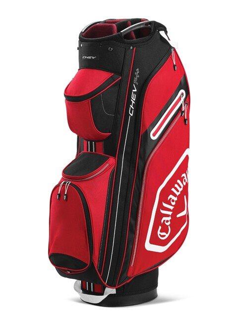Callaway golftas Chev 14+ Cart Bag rood-wit