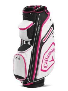Callaway golftas Chev 14+ Cart Bag zwart-roze