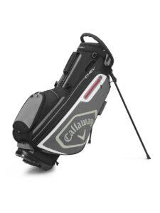 Callaway golftas Chev Stand Bag zwart-grijs