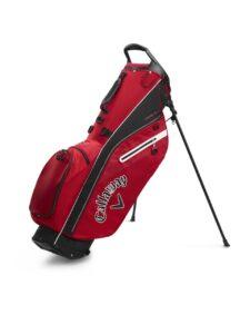 Callaway golftas Fairway C Stand Bag rood-zwart