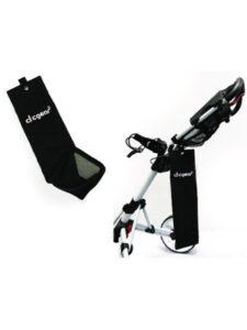 Clicgear golfhanddoek zwart