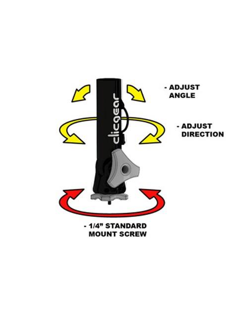 Clicgear golfparapluhouder Adjustable