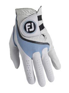 FootJoy heren golfhandschoen Pro FLX wit-blauw