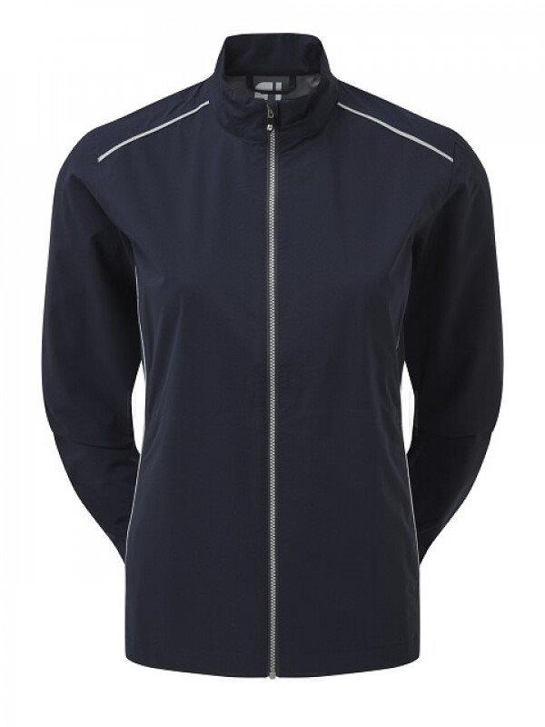 FootJoy dames golfregenjack HydroLite V2 donkerblauw-zilver