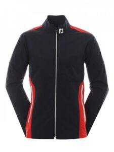 FootJoy heren golfregenjack HydroLite V2 donkerblauw-rood