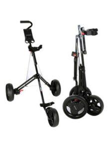 Fastfold junior golftrolley 3-wiel zwart