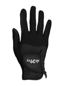 Fit39 unisex golfhandschoen zwart RECHTERHAND