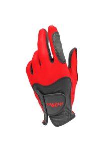 Fit39ex golfhandschoen unisex rood-zwart