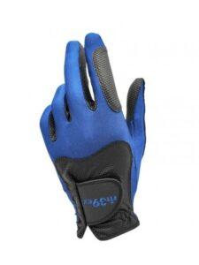 Fit39 golfhandschoen unisex zwart-blauww