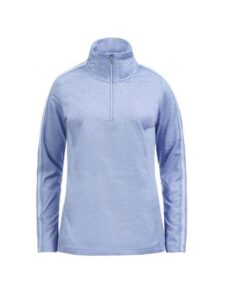 Luhta dames golfpully Emalkoski blauw-zilver