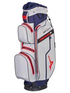 Mizuno golftas BR-DRI WP Cart Bag blauw-zilver-rood