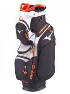 Mizuno golftas BR-D4C Cart Bag zwart-grijs-oranje