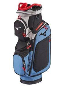 Mizuno golftas BR-D4C Cart Bag blauw-zwart-rood