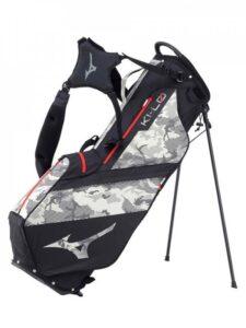 Mizuno golftas K1-Lo Stand Bag camouflage zwart-grijs