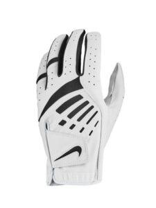 Nike heren golfhandschoen Dura Feel wit-zwart