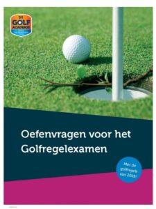 Golfboeken golfregelexamen oefenvragen