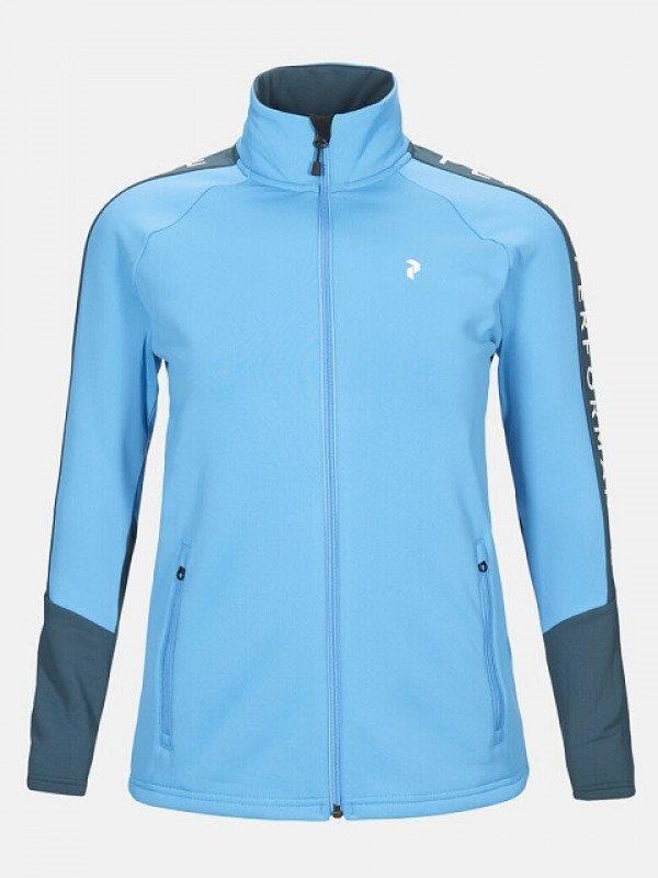 Peak Performance dames golfvest Rider Zip blauw