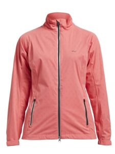 Röhnisch dames golf regenjack Waterproof koraal roze