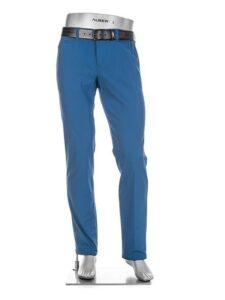 Alberto heren golfpantalon Rookie 3xDry Cooler capriblauw