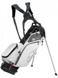 Sun Mountain golftas Eco-Lite 14 Stand Bag 2021 zwart-wit-rood