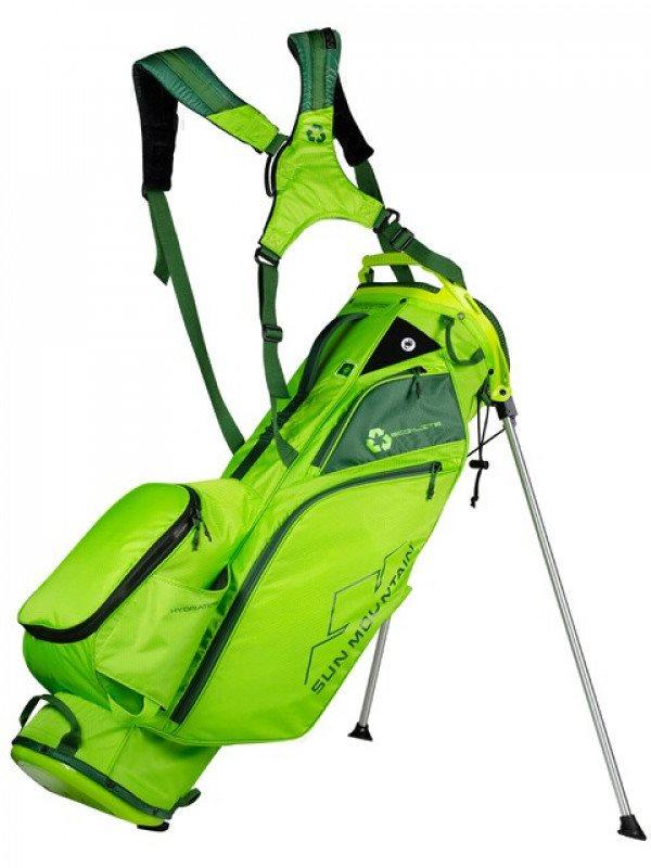 Sun Mountain golftas Eco-Lite 14 Stand Bag lichtgroen