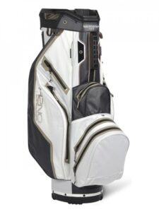 Sun Mountain goltfas H2NO 14 Lite Cart Bag 2021 wit-zwart