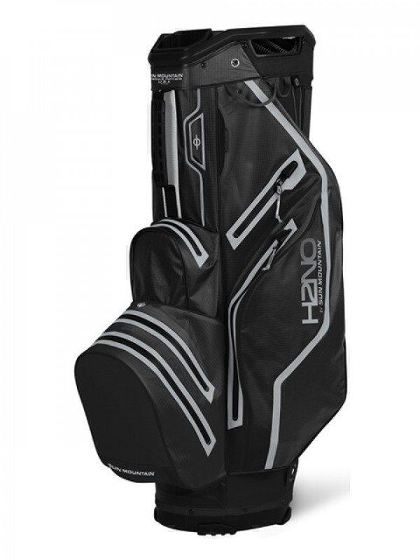 Sun Mountain golftas H2NO 14 Lite Cart Bag 2021 zwart