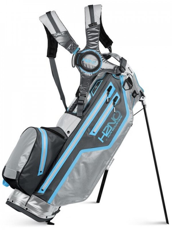 Sun Mountain golftas H2NO Lite 14 Stand Bag 2021 grijs-blauw-grijs