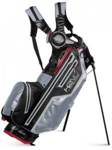 Sun Mountain golftas H2NO Lite 14 Stand Bag 2021 zwart-grijs-rood