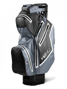 Sun Mountain goltfas H2NO Staff Cart Bag 2021 zwart-grijs-wit